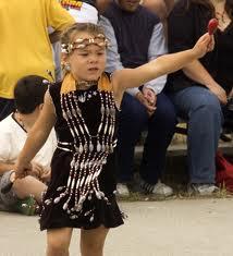 Lummi dancer