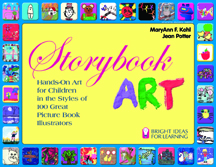 Storybook Art cover 3%22 wide