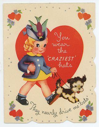 Hat valentine
