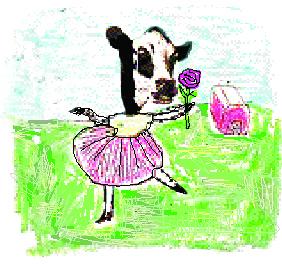 Dali dancing cow
