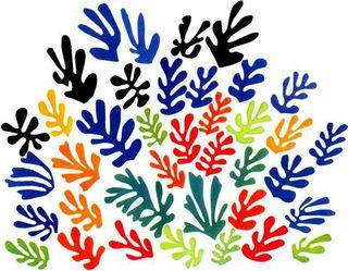 Matisse spray leaves