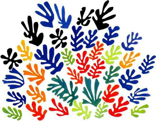 Matisse spray leaves