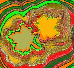 Wiggly Leaf w Color