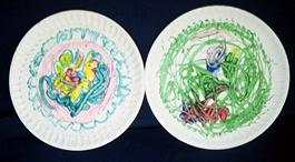 08 melt crayon plate