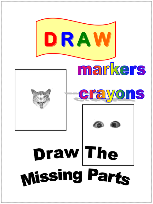 Draw missing part copy