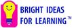 Bright Ideas Bulb pink blue logo TM sm