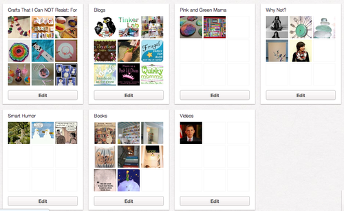Page two of MaryAnn's Pinterest Boards