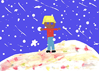 Snowy day cover